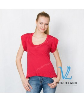 Блуза красная