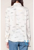 Блуза с рисунком