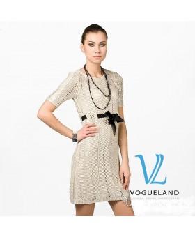 Платье с поясом от ТМХ
