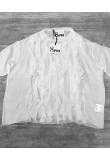 Блуза белая с рюшами