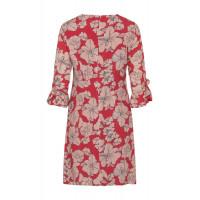 Платье коктельное красное