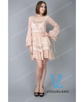 Платье-туника с вышивкой