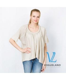 Блуза трикотажная хомутом