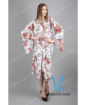 Халат летний кимоно