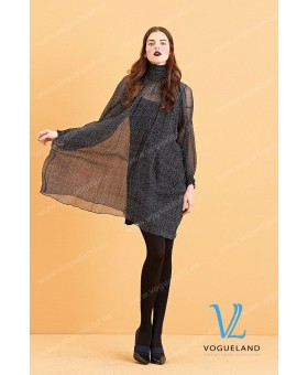 Платье- туника шелковое