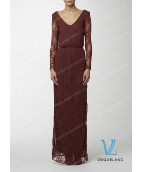 Платье гипюровое в пол