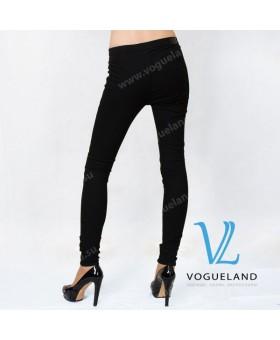 Брюки-леггинсы джинсовые