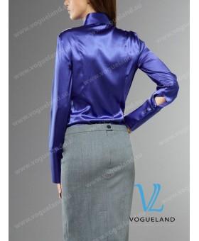 Блуза-боди шелковая
