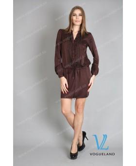 Платье-туника с поясом