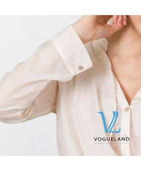 Блуза с хомутом