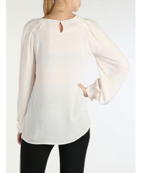 Блуза  цвета шампань